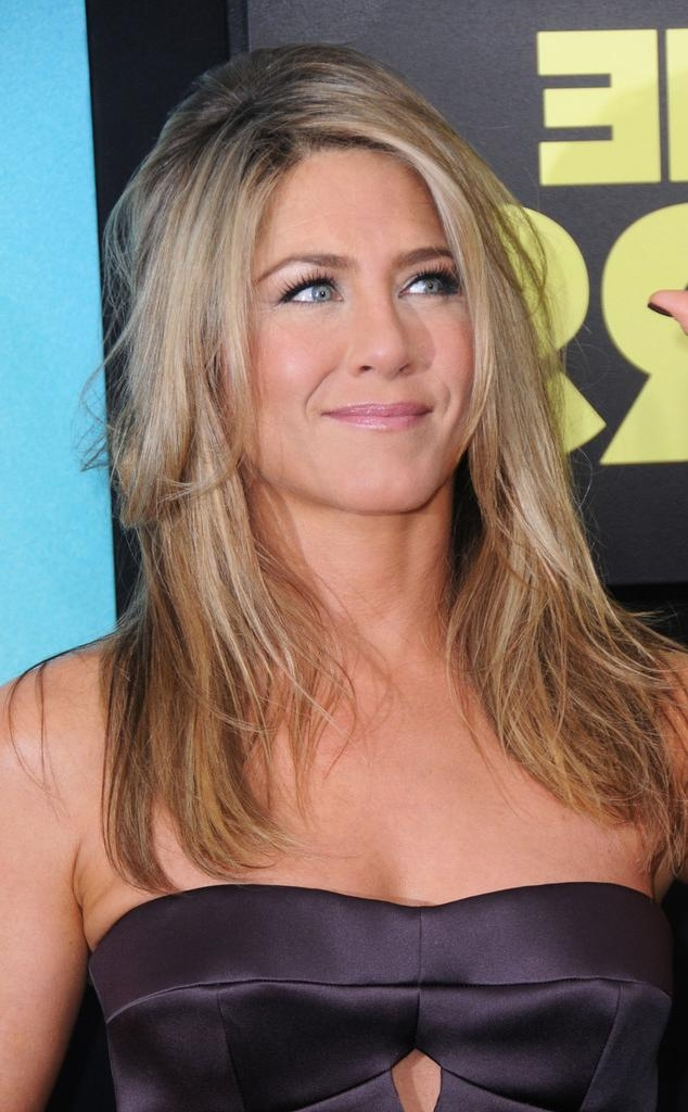 Photo Gallery Of Long Layered Hairstyles Jennifer Aniston Viewing 9