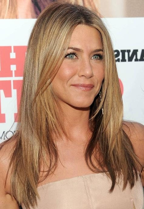 Jennifer Aniston Long Straight Hairstyle With Layers – Hairstyles Regarding Long Hairstyles For Straight Hair (View 12 of 15)