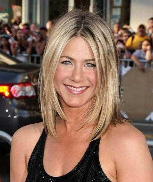 Jennifer Aniston New Bob Haircuts | Short Hairstyles 2016 – 2017 In Long Layered Hairstyles Jennifer Aniston (View 12 of 15)
