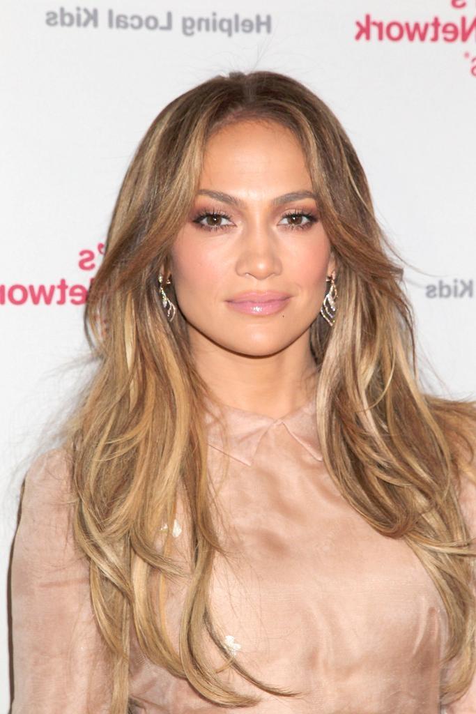 Jennifer Lopez Hair – Stylebistro For Long Hairstyles Jennifer Lopez (View 4 of 15)