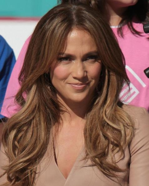 Jennifer Lopez Hairstyle: Long Straight Cut – Hairstyles Weekly Pertaining To Long Layered Hairstyles Jennifer Lopez (View 11 of 15)