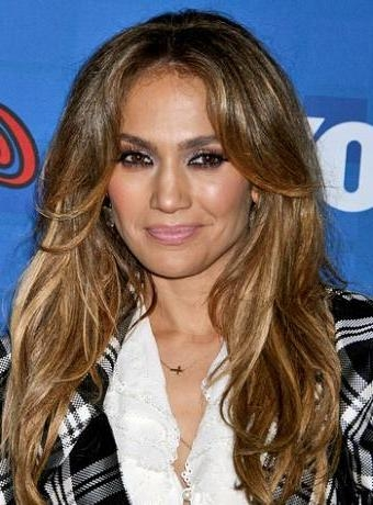 Jennifer Lopez In Latest Layered Hairstyle | Trendy Mods Throughout Long Layered Hairstyles Jennifer Lopez (View 4 of 15)