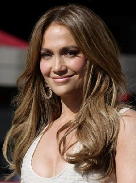 Jennifer Lopez Layered Long Hairstyle – Hairstyles Weekly In Long Layered Hairstyles Jennifer Lopez (View 9 of 15)