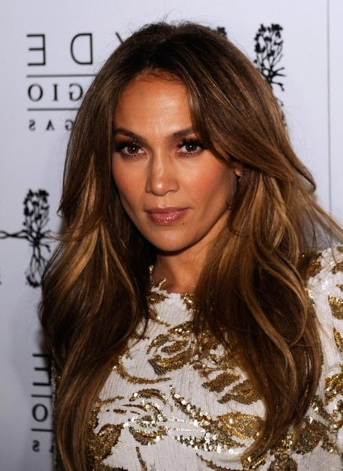 Jennifer Lopez Long Hairstyle With Layers – Hairstyles Weekly Inside Long Layered Hairstyles Jennifer Lopez (View 10 of 15)