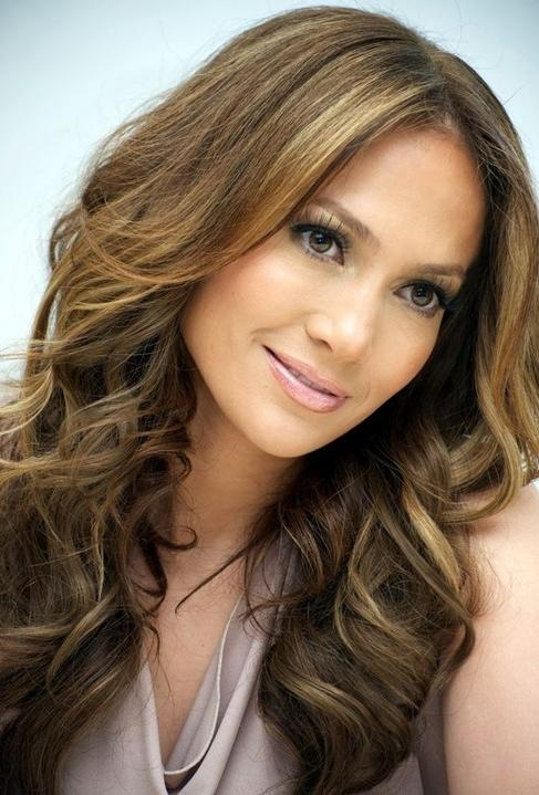 Jennifer Lopez Long Hairstyles: Layered Hairstyle – Popular Haircuts With Long Layered Hairstyles Jennifer Lopez (View 10 of 15)