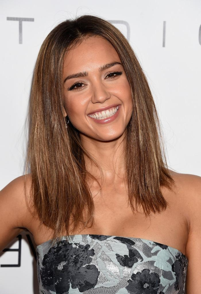 Jessica Alba Long Hairstyles – Jessica Alba Hair – Stylebistro For Long Hairstyles Jessica Alba (Gallery 11 of 15)