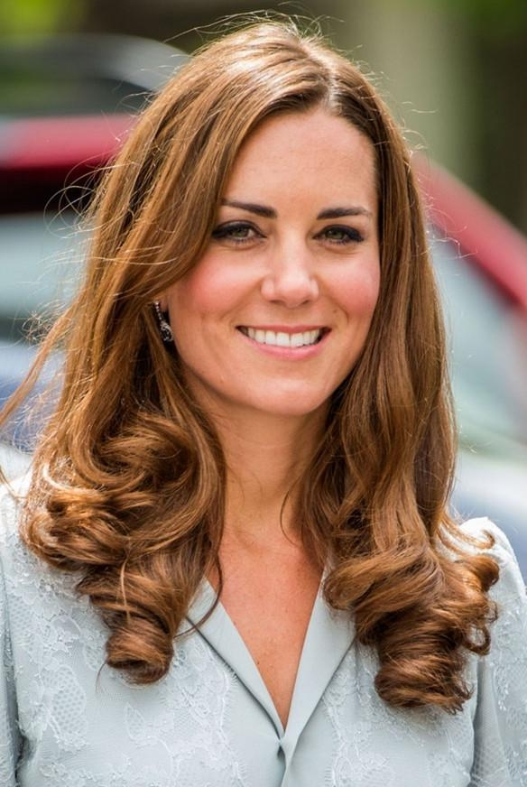 Kate Middleton Hairstyles – Celebrity Latest Hairstyles 2016 With Regard To Long Hairstyles Kate Middleton (View 7 of 15)
