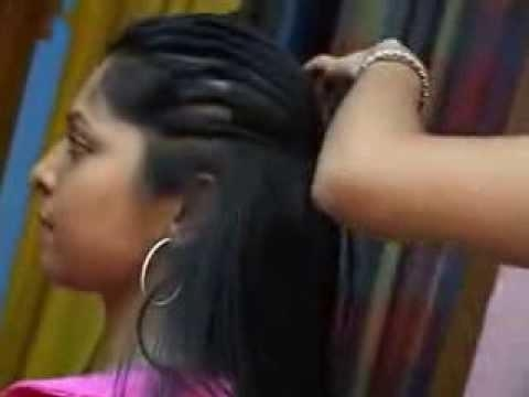 Kerala Girl Long Hair Style – Youtube Intended For Long Hairstyles In Kerala (View 8 of 15)