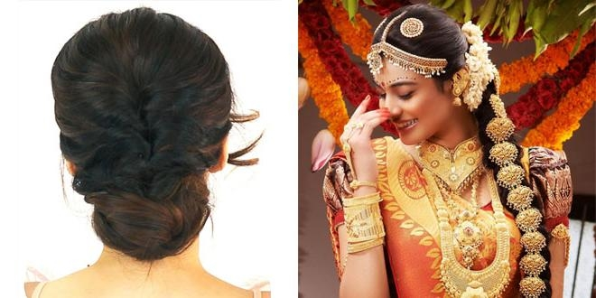 Kerala Wedding Hairstyles Image. Kerala Bridal Hairstyle (View 9 of 15)