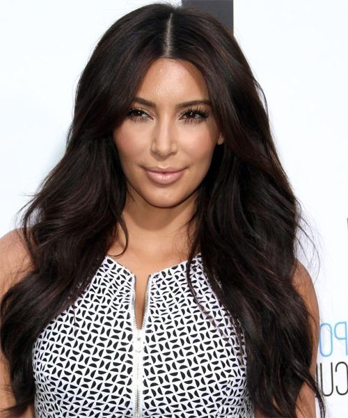Kim Kardashian Hairstyles For 2017 | Celebrity Hairstyles Within Long Layered Hairstyles Kim Kardashian (View 9 of 15)