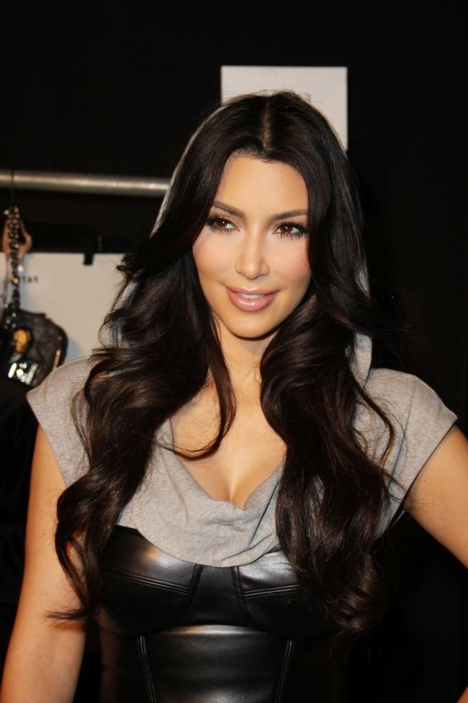 Kim Kardashian Long Hairstyles : Hairii Inside Long Hairstyles Kim Kardashian (View 8 of 15)
