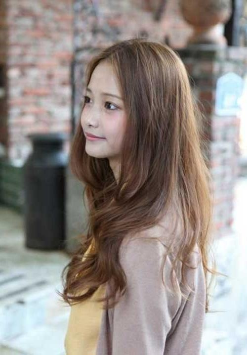 Photo Gallery Of Long Hairstyles Korean Viewing 5 Of 15 Photos