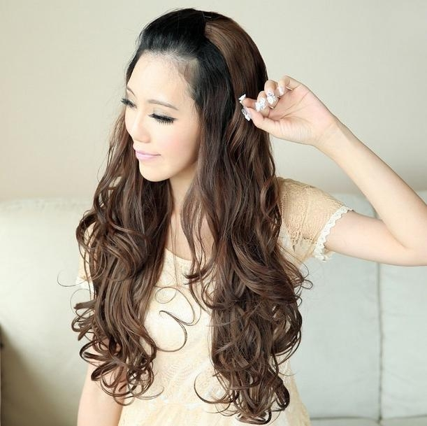 Korean Long Wavy Hairstyles Ideas For Girls (11) – Adworks (View 13 of 15)