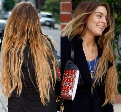 Lindsey Lohan Super Long Extensions – Looks On Heg – Celebrity For Long Hairstyles Extensions (View 12 of 15)