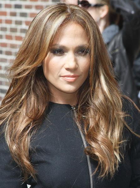 Long And Sexy Hairstyles ! | Estilo In Long Layered Hairstyles Jennifer Lopez (View 9 of 15)