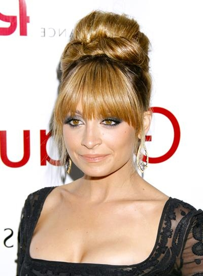 Long, Blonde Updos – Beauty Riot Pertaining To Updo For Long Hair With Bangs (View 10 of 15)