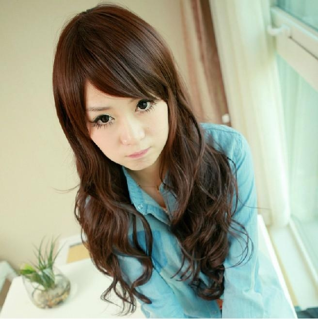 Long Curly Hair Styles High Quality Hair Wig For Young Ladies With Regard To Long Hairstyles For Young Ladies (View 11 of 15)