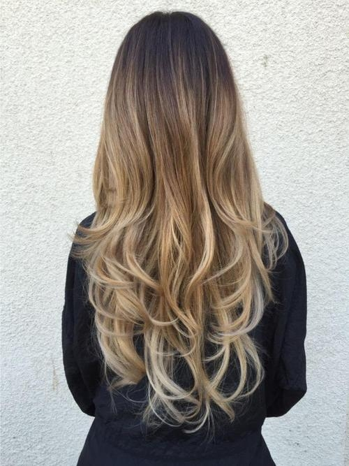 Long Hair Balayage Discoveredcrl On We Heart It Within Long Hairstyles Balayage (View 5 of 15)