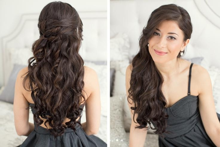 Long Hair Formal Hairstyles Down (View 13 of 15)
