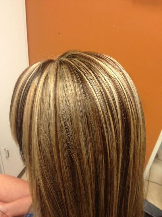 Long Hair Highlight And Multi Colored Lowlights (View 15 of 15)