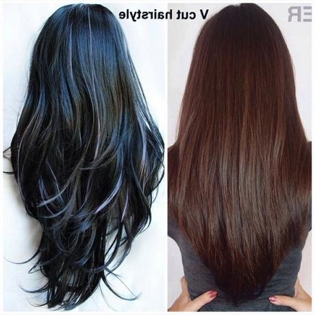 Long Hair With Layers V Cut – Popular Long Hair 2017 Pertaining To Long Hairstyles V Cut (View 12 of 15)