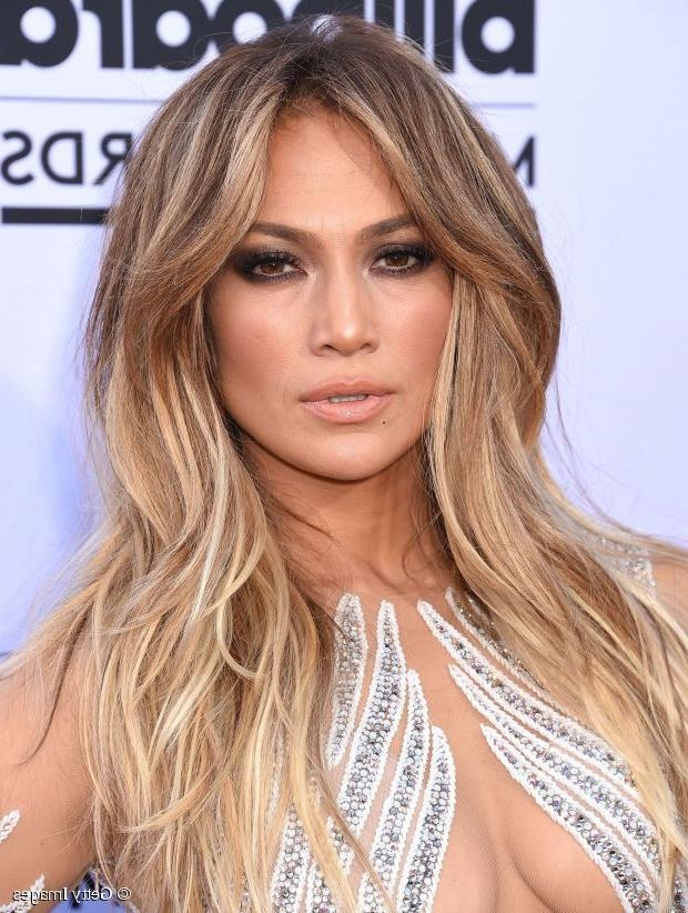 Long Hairstyle Ideas: Jennifer Lopez's Voluminous Center Part Inside Long Hairstyles Jennifer Lopez (View 14 of 15)
