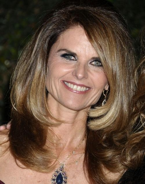 Long Hairstyles For Women Over 50 Within Long Hairstyles For Ladies Over (View 12 of 15)