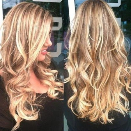 Long Hairstyles Highlights And Lowlights: Best 25 Light Brown Hair In Long Hairstyles Highlights And Lowlights (View 15 of 15)