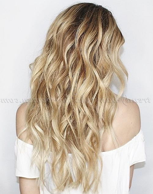 Long Hairstyles – Long Hairstyle With Beach Waves | Trendy Throughout Long Hairstyles Beach Waves (View 15 of 15)