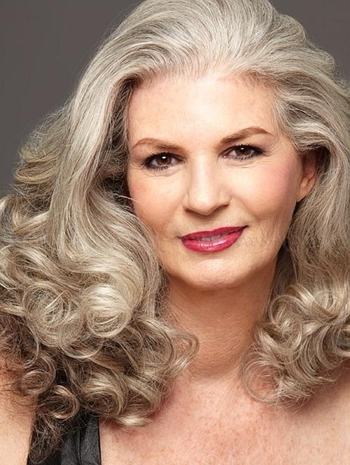 Long Hairstyles Over 50 – Long Hairstyle For Women Over 50 For Long Hairstyles Ladies Over  (View 13 of 15)