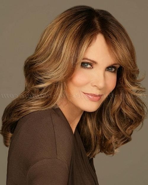 Photo Gallery of Long Hairstyles For Women Over 50 (Viewing 12 of 15 ...