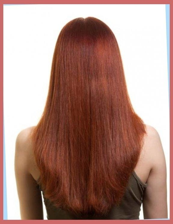 Long Hairstyles: U Shaped, V Shaped Or Straight Across Back Throughout Long Hairstyles U Shaped (View 12 of 15)