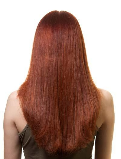Long Hairstyles: U Shaped, V Shaped Or Straight Across Back? With Long Hairstyles V Shape At Back (View 7 of 15)