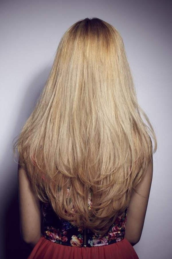 Long Layered Hairstyle Back View Long Hairstyles Ideas – Best Intended For Long Hairstyles Back View (View 5 of 15)