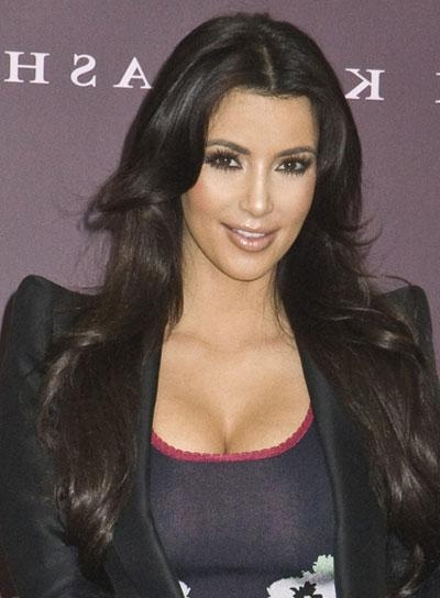 Long, Layered Hairstyles For Thick Hair – Beauty Riot With Long Layered Hairstyles Kim Kardashian (View 15 of 15)
