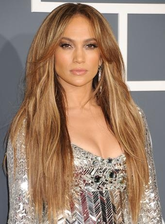 Lopez's Long Layered Hairstyle Throughout Long Layered Hairstyles Jennifer Lopez (View 8 of 15)