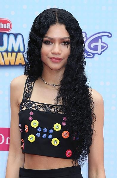 Mane Attraction: 20 Times Zendaya Slayed The Red Carpet With Her Regarding Zendaya Long Hairstyles (View 6 of 17)