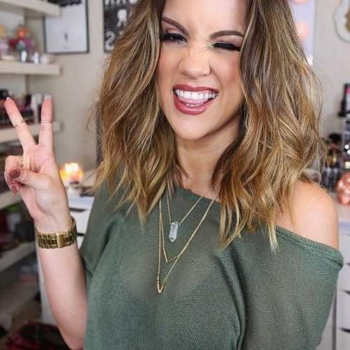 Medium Long Hairstyles 2014 – 2015 | Hairstyles & Haircuts 2016 – 2017 Within Medium To Long Hairstyles (View 8 of 15)