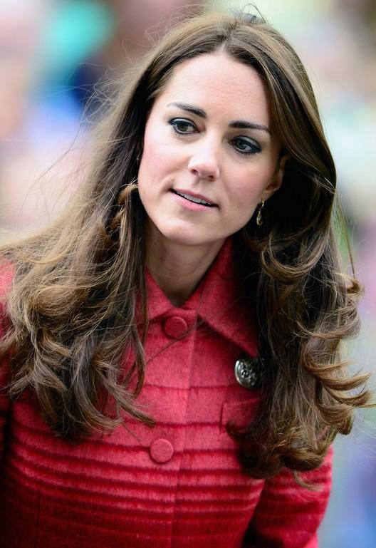 Middleton Long Wavy Hairstyle For Thick Hair Regarding Long Hairstyles Kate Middleton (View 15 of 15)