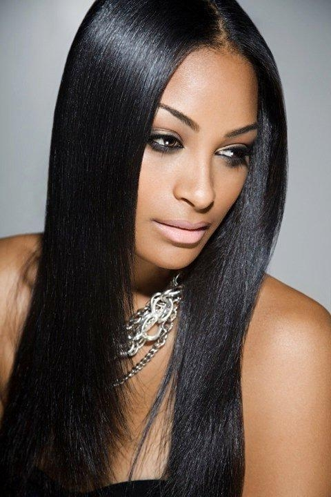 Most Popular Hairstyles For Long Hair Hairstyles For Long Hair For Throughout Long Hairstyles African American (View 10 of 15)