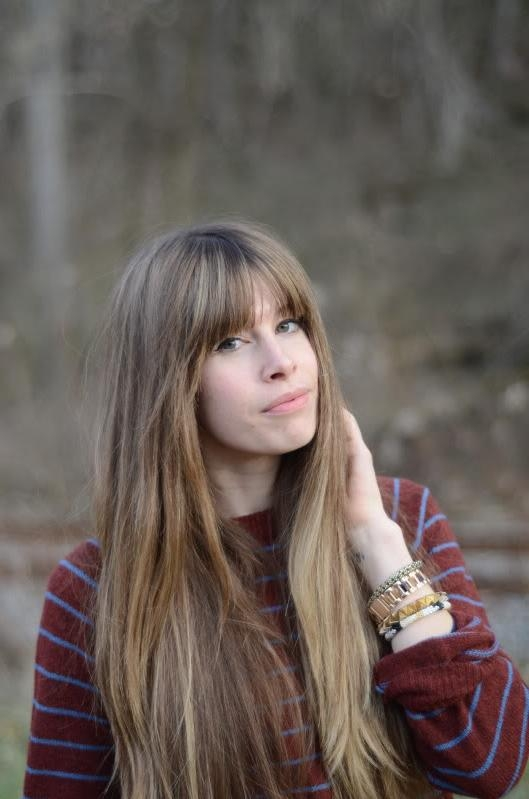 Orchid Grey: How To: Grow Out Your Bangs And Not Go Bananas Within Long Hairstyles Growing Out Bangs (Gallery 13 of 15)