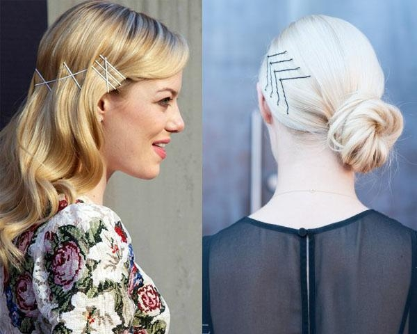 Picture Suggestion For Hairstyles For Long Straight Hair With Inside Long Hairstyles Using Bobby Pins (View 10 of 15)