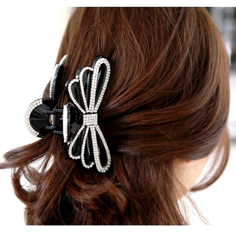 Featured Photo of Hair Clips For Thick Long Hair