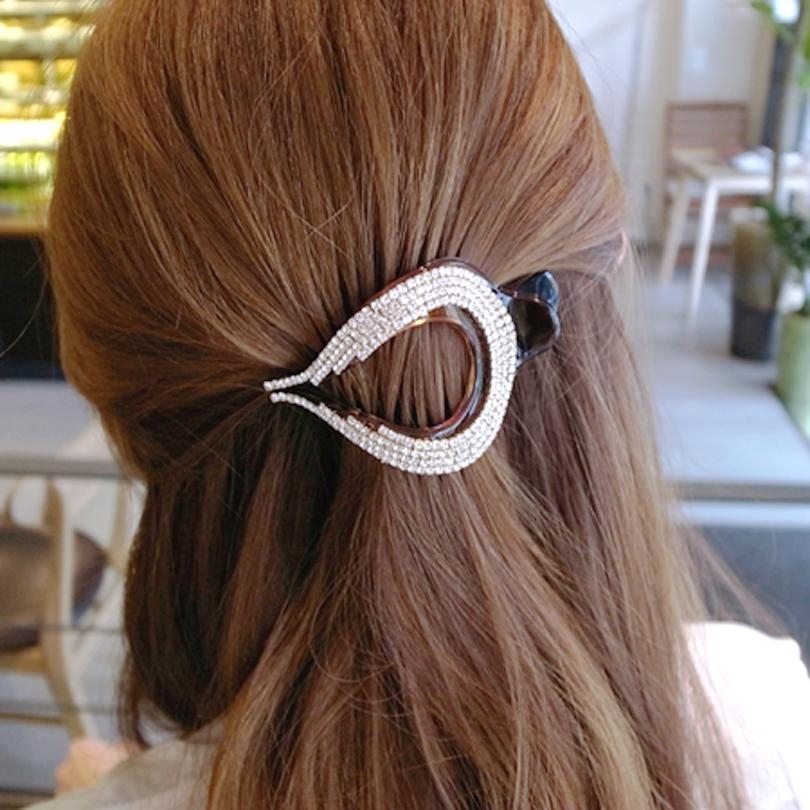 Popular Thick Hair Accessories Buy Cheap Thick Hair Accessories Throughout Hair Clips For Thick Long Hair (View 15 of 15)