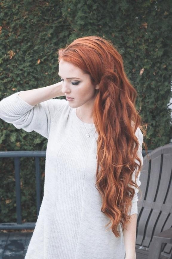 Prime Long Hairstyles Redheads Within Long Hairstyles Redheads (View 14 of 15)