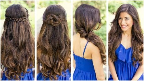 Quick And Easy Hairstyles For Long Hair 2015 Pertaining To Long Hairstyles Easy And Quick (View 15 of 15)
