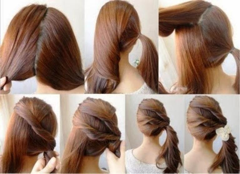 Quick And Easy Hairstyles | Hairstyles,short Hairstyles,natural For Long Hairstyles Easy And Quick (Gallery 14 of 15)