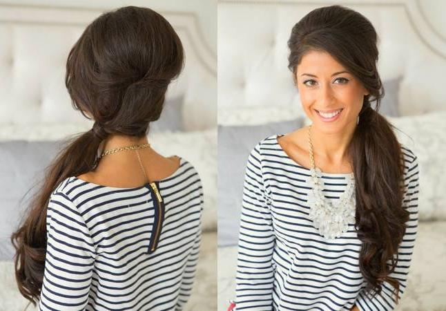Quick Hairstyles For Long Hair At Home For Long Hairstyles At Home (View 15 of 15)
