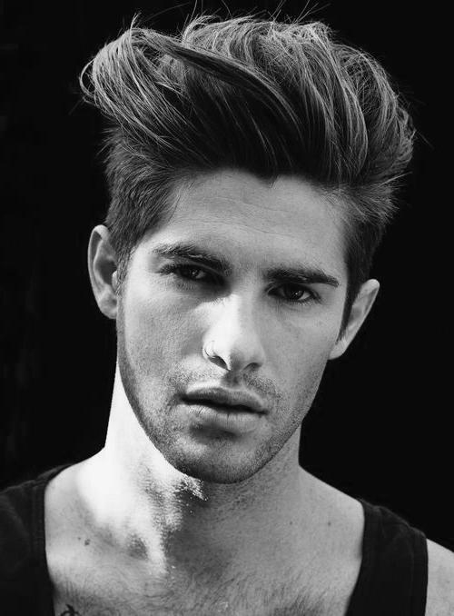 Quiff Haircut For Men – 40 Manly Voluminous Hairstyles With Hairstyles Quiff Long Hair (Gallery 5 of 15)