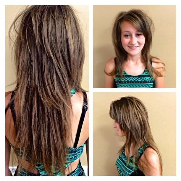 Featured Photo of Razored Layers Long Hairstyles